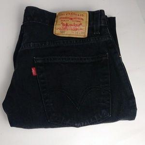 Levi's 560 comfort fit jeans men's size 34 X 32.
